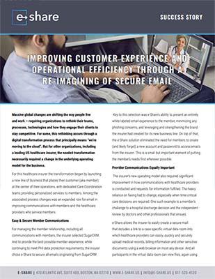 Success Stories- Front image - Medicare Health Insurer